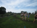 Chris Hamer and Matt Coloe in the U20 race