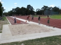Competitors in the long jump