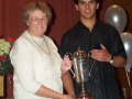 Reg Barlow Cup - Junior Male Athlete of the Year Mohamad Zeed