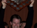 Club Captain Cameron Baker and State League Shield