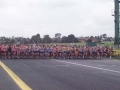 Mens 10 km Road Race Start
